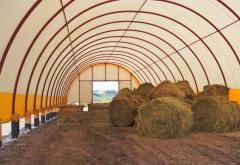Быстровозводимые ангары, зернохранилища, фермы 14х50 м