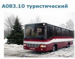Автобусы прочие: туристические автобусы А083.10, Черниговский автозавод, Украина