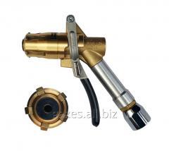 Топливораздаточный пистолет Gaslin 5-ти лапочный газовый LPG для пропана бутана автогаза АГЗС струбцина заправочный газораздаточный кран