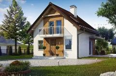 Типови проекти на домове и котеджи