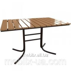 """Table for summer cafes """"Rioni Plus"""""""