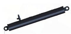 Гидроцилиндр подъема кузова КаМАЗ 4-х штоковый