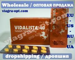 Cialis | Tadalafil 40mg | Vidalista 40