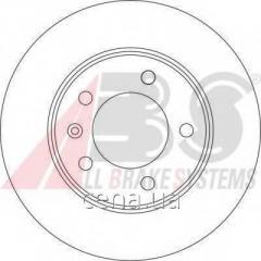 Тормозной диск задний VAUXHALL MOVANO 1.9 Дизель 2001 - 2010 (17331)