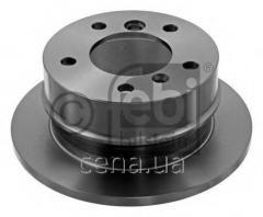 Тормозной диск задний Mercedes Sprinter (Мерседес Спринтер) 214 Бензин/природный газ (CNG) 2000 - 2006 (09102)