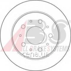 Тормозной диск задний Citroen JUMPER 2.0 бензин 1994 - 2002 (17461)