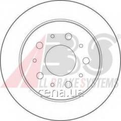 Тормозной диск задний Citroen JUMPER 2.5 Дизель 1994 - 2002 (17461)