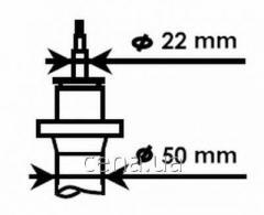 Амортизатор передний (D 50) Seat Leon (Сеат Леон) 1.6 Бензин/автогаз (LPG) 2009 -  (334834)