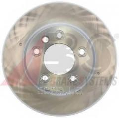 Тормозной диск передний (левый) PORSCHE...