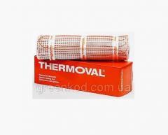 Нагревательный мат двухжильный для теплого пола Thermoval (Польша)