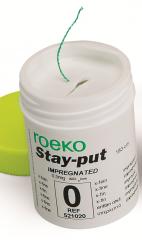 Ретракционная нить ROEKO Stay-put Без пропитки №0 x-fine (экстра тонкая)