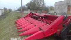 Corn harvester on Capello's combine Capello \a