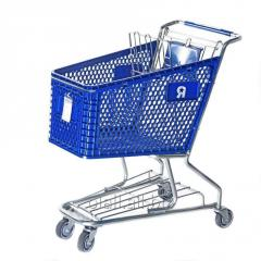 The cart is plastic trade