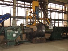 Универсальная установка типа РМ УН-15 для наплавки