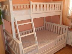 Двухъярусная кровать Жасмин Белая - Кровать Жасмин