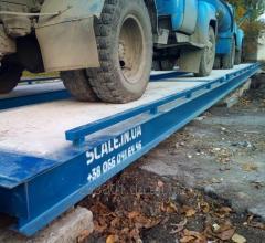 Весы автомобильные 80 тонн 13.5 метров