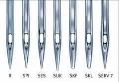 Sewing needles of Schmetz