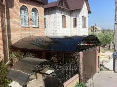 Polycarbonate and accessories in Donetsk. Canopies