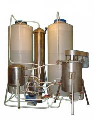 Filtrational systems of water purification