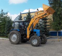 Погрузочное оборудование на трактора класса 2.0