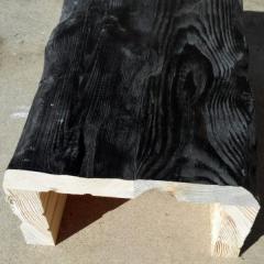 Балка из сосны состаренная 140*100 мм