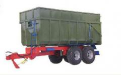 Semi-trailers of loading capacity from 4,4 to 20