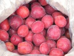 The cherry plum frozen from the producer. Wide