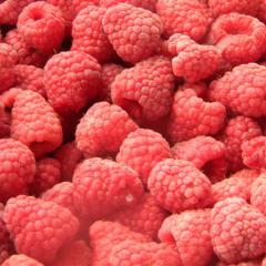 The raspberry frozen