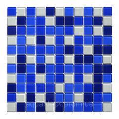 Прозрачная мозаика стеклянная AquaViva Сristall Bagama Dark