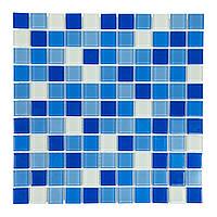 Мозаика прозрачная стеклянная «Aquaviva Сristall Bagama Dark»