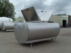 Milk Mueller tanks of model M, tanks coolers of