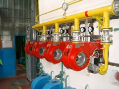 The equipment for modernization of boilers of the