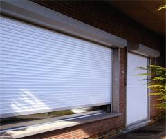 Rolling shutters, rolleta, protective blinds from