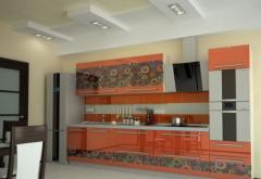 Кухонная мебель, шкафы, полки, балясины, дизайн,