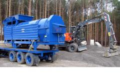 Asphalt pass plant of 10 t/h