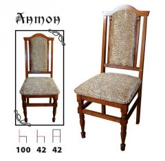 Chair from the massif of a beech model Anton