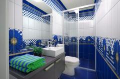 Tile for a bathroom Zhytomyr