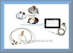 Универсальный 5-проводный 3-12 канальный ЭКГ