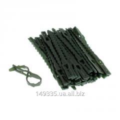 Подвязки для растений 11 см, из пластика, 50 шт. в