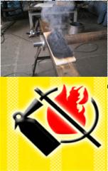 Огнезащитная пропитка для дерева, защита древесины