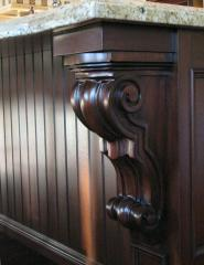 Декоративная консоль из дерева