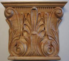 Capitals decorative of a tree