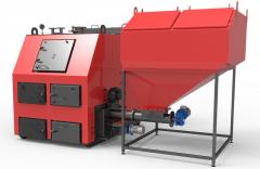 Твердотопливный пеллетный котел Ретра 1250 кВт 4-М-ДУО