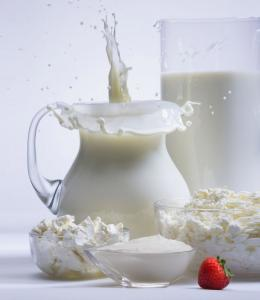 Sour-milk production from the producer, fermented