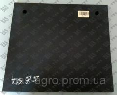 Защитная резиновая пластина ножа фрезы 280мм Geringhoff 511360