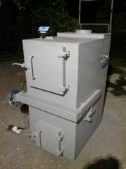 Котел твердотопливный пиролизный 15-25 кВт