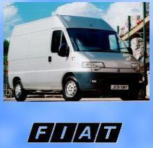 Запчасти к микроавтобусам FIAT: Ducato, Skudo,
