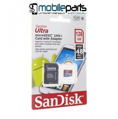Карта памяти SanDisk MicroSD UHS-I with adapter 128GB Class 10