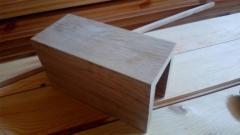 Балка настенная дубовая 150*150 мм