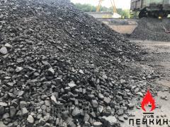 Каменный уголь марка ДГ, мешок
